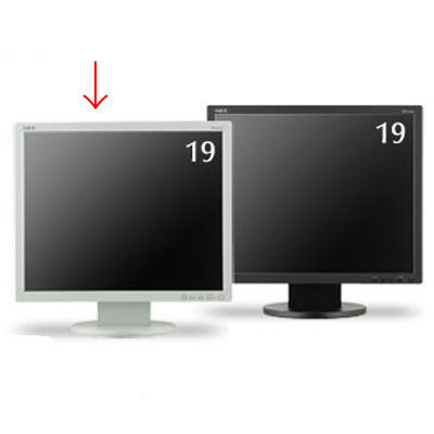 NEC 19型液晶ディスプレイ(ホワイト) LCD-AS193MI-W5【納期目安:追って連絡】