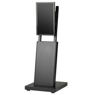 SDS エス・ディ・エス デジタルサイネージスタンド 22インチ対応/ブラック/エコノミータイプ DSS-M22B2