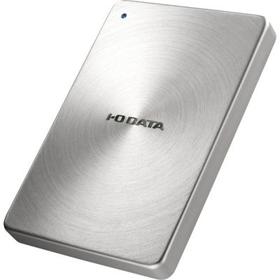 アイ・オー・データ機器 USB 3.0/2.0対応 ポータブルハードディスク「カクうす」2.0TB シルバー (HDPXUTA2.0S) HDPX-UTA2.0S【納期目安:追って連絡】
