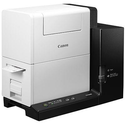 キヤノン プラスチックカード、名刺、シール紙の印刷に対応したフルカラーカードプリンター CX-G2400