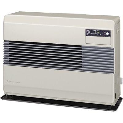 コロナ FF式温風暖房機 標準タイプ別置タンク式 (フロスティホワイト) (FF10014W) FF-10014-W