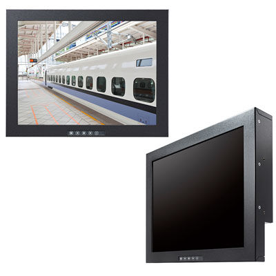 EIZO 高輝度1200cd/  15インチモニター 鉄道ホーム監視最適(受注生産品) FDX1513-FBK【納期目安:1ヶ月】