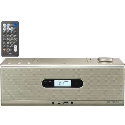 【あす楽対応_関東】ビクター Bluetooth/NFC機能搭載CDポータブルシステム (RDW1N)(シャンパンゴールド) RD-W1-N