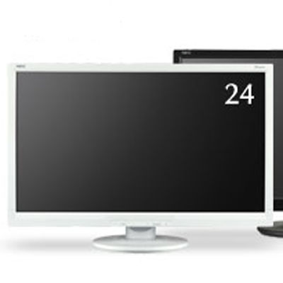 NEC 24型ワイド液晶ディスプレイ(ホワイト) LCD-AS242W【納期目安:追って連絡】