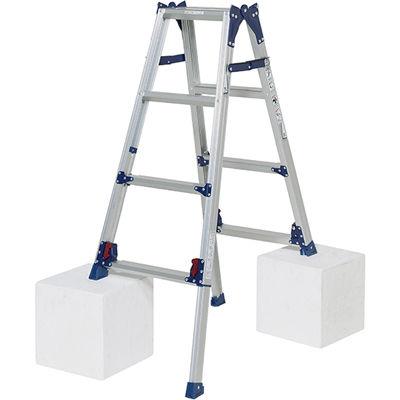 ピカコーポレイション ピカ 四脚アジャスト式脚立かるノビSCL型3~4尺 SCL120A 4989247380020