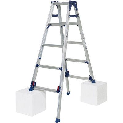 ピカコーポレイション ピカ 四脚アジャスト式脚立かるノビSCL型4~5尺 SCL150A 4989247380037