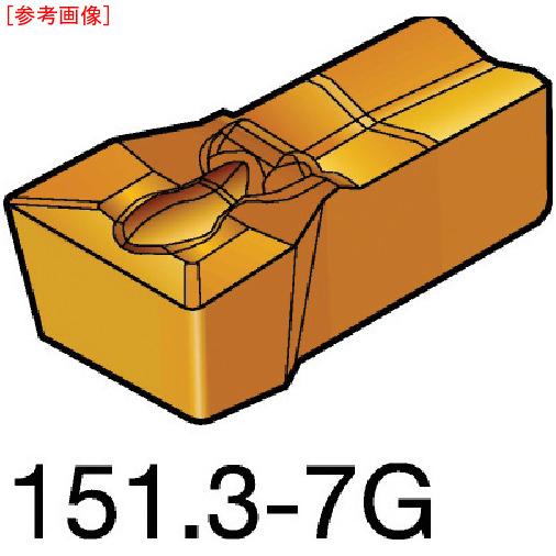 サンドビック 【10個セット】サンドビック T-Max Q-カット 突切り・溝入れチップ 1125 N151_3-500-40-7G-1125-8716