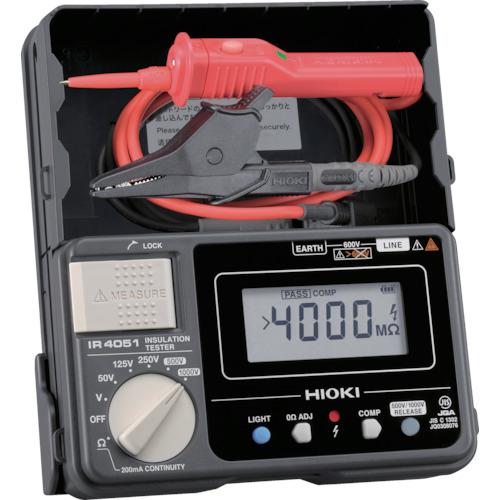 日置電機 HIOKI 5レンジ絶縁抵抗計 スイッチ付きリード 4536036000586