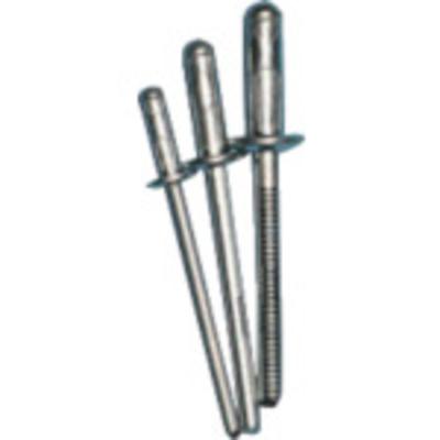 ポップリベットファスナーPO POP 高圧着HRリベット(オール鉄)φ4.8、SD62HR(1000本) SD62HR 4536178198844
