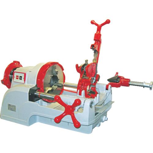 レッキス工業 REX 自動切上ダイヘッド付パイプマシン F80A3 4514706017348