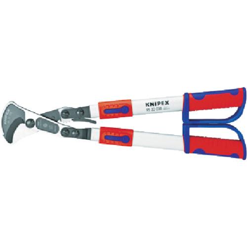 KNIPEX社 KNIPEX 伸縮式ケーブルカッター 570‐770mm 4003773071556
