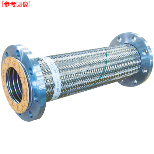 トーフレ トーフレ フランジ無溶接型フレキ 10K SS400 100AX1000L 4571411264726