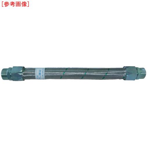 トーフレ TF メタルタッチ無溶接型フレキ 継手鉄 オスXメス 20AX1000L TF16201000MF 4571411264337