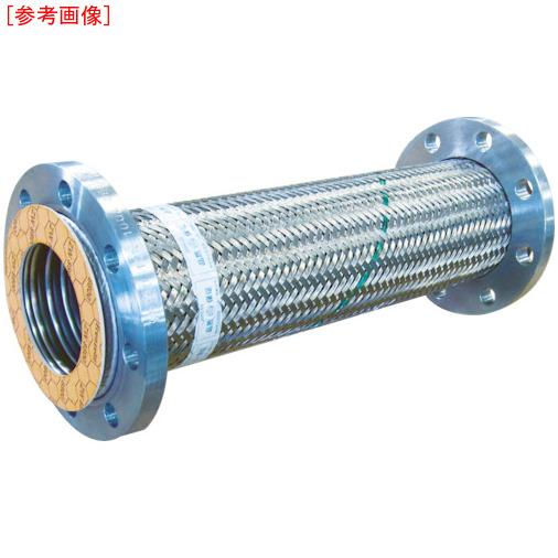 トーフレ TF フランジ無溶接型フレキ 10K SS400 100AX500L TF23100500 4571411264696
