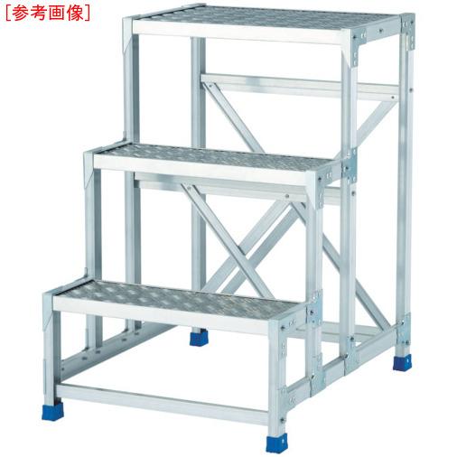 アルインコ アルインコ 作業台(天板縞板タイプ)3段 4969182282351