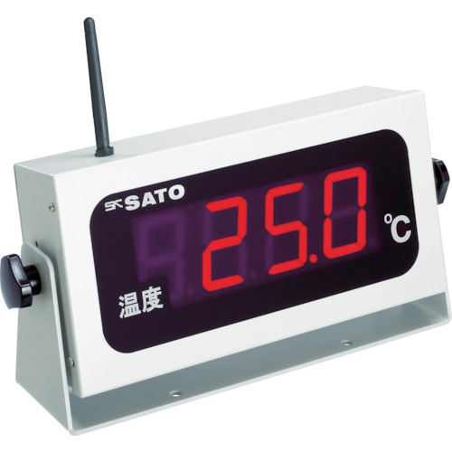 佐藤計量器製作所 佐藤 コードレス温度表示器(8101-00) 4974425800421