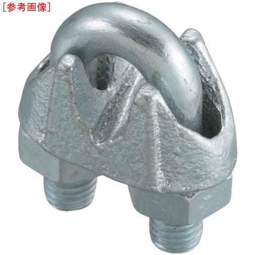 トラスコ中山 TRUSCO まとめ買い ワイヤークリップ スチール製 5mm用 (100個入) 4989999290851