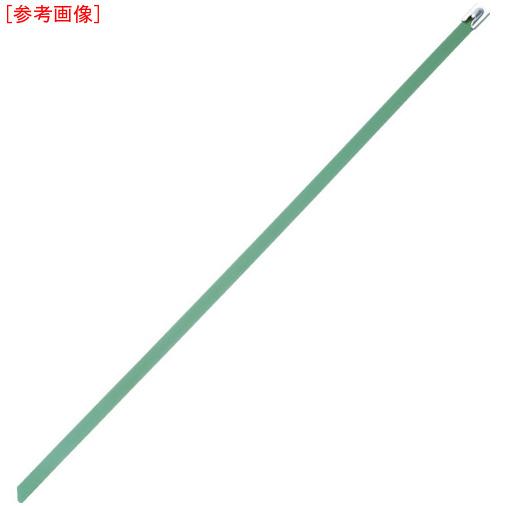パンドウイットコーポレーション パンドウイット MLT フルコーティングステンレススチールバンド SUS316 緑 幅8.1mm 長さ521mm 50本入り MLTFC6H-LP316GR 0074983117871