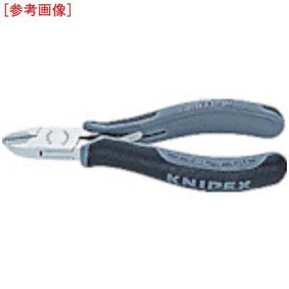 KNIPEX社 KNIPEX 7702-120HESD 超硬刃エレクトロニクスニッパー 4003773075813