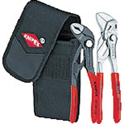 KNIPEX社 KNIPEX 002072V01 ミニコブラ プライヤーレンチセット 4003773070832