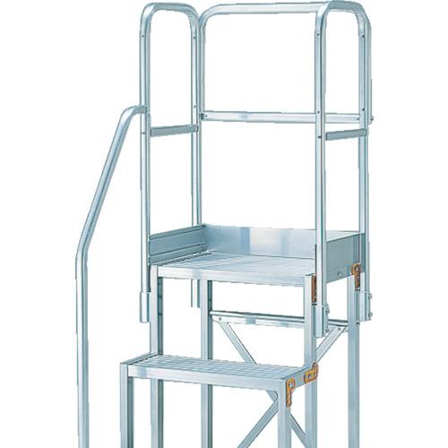トラスコ中山 TRUSCO 作業用踏台用手すり H1100 階段片手すり天場三方 TSF-51 4989999336955
