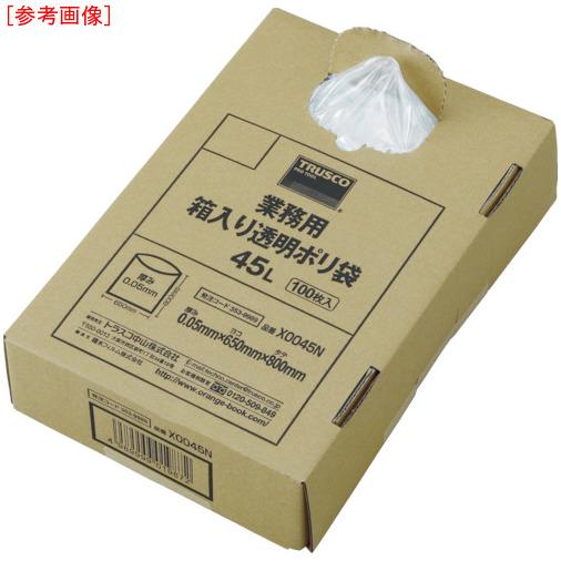 トラスコ中山 TRUSCO 業務用ポリ袋 透明・箱入り 0.05X120L 100枚入 X0120N 4989999355758