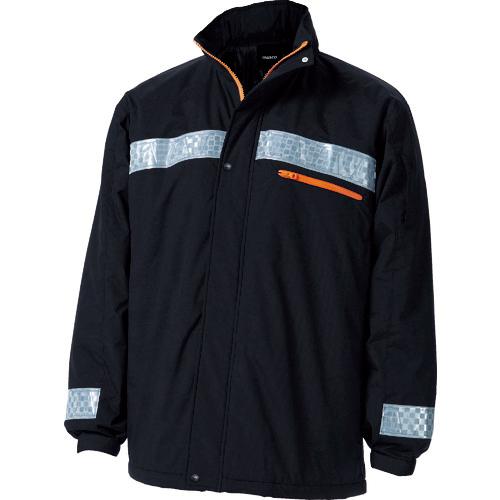 トラスコ中山 TRUSCO 暖かブルゾン Lサイズ ブラック 4989999337839