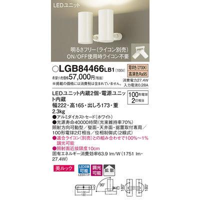 パナソニック スポットライト LGB84466LB1