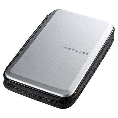 限定特価 送料無料 サンワサプライ 最安値に挑戦 ブルーレイディスク対応セミハードケース シルバー FCD-WLBD56S 56枚収納