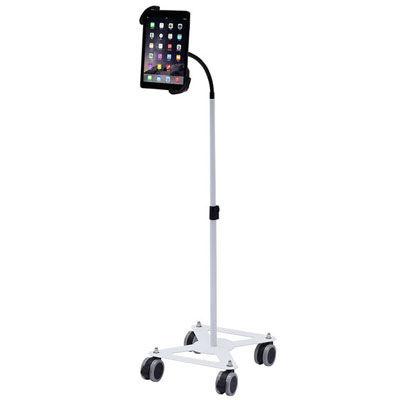サンワサプライ iPad・タブレット用キャスター付きスタンド CR-LASTTAB16W