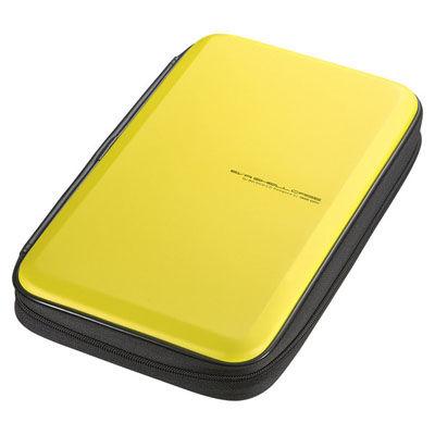 送料無料 サンワサプライ ブルーレイディスク対応セミハードケース イエロー FCD-WLBD56Y 56枚収納 訳あり商品 贈答品