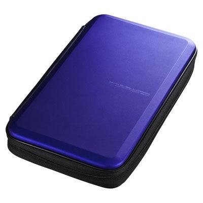 送料無料 激安☆超特価 サンワサプライ ブルーレイディスク対応セミハードケース 56枚収納 FCD-WLBD56BL 40%OFFの激安セール ブルー