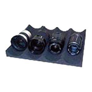 送料無料 東洋リビング ランキングTOP5 オートクリーンドライ 波形レンズホルダー L 納期目安:1週間 ブラック OP-AD-LH 価格 交渉 4
