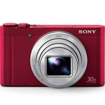 ソニー 手のひらサイズに凝縮された、世界最小(*)・光学30倍ズーム・デジタルスチルカメラ (レッド) (DSCWX500R) DSC-WX500-R【納期目安:1ヶ月】
