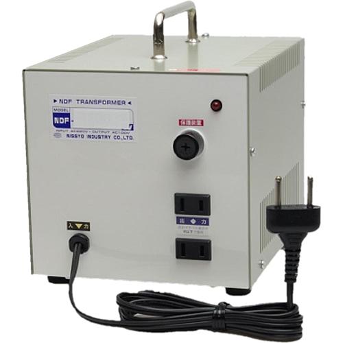日章工業 ダウントランス(AC220V、1500W) NDF-1500E【納期目安:3週間】