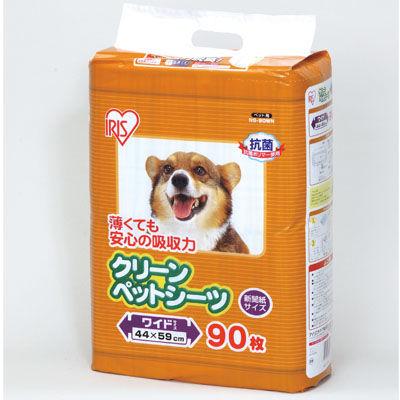 アイリスオーヤマ 【4個セット】クリーンペットシーツ ワイドサイズ NS-90WN