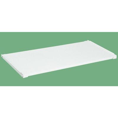 サカエ 作業台用オプション固定棚(パールホワイト) KK-1875KW