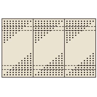 サカエ パンチングウォールシステム PO-453LN