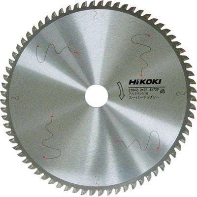 HiKOKI(日立工機) スーパーチップソー(アルミサッシ用) 216×25.4 72枚刃 0032-6743