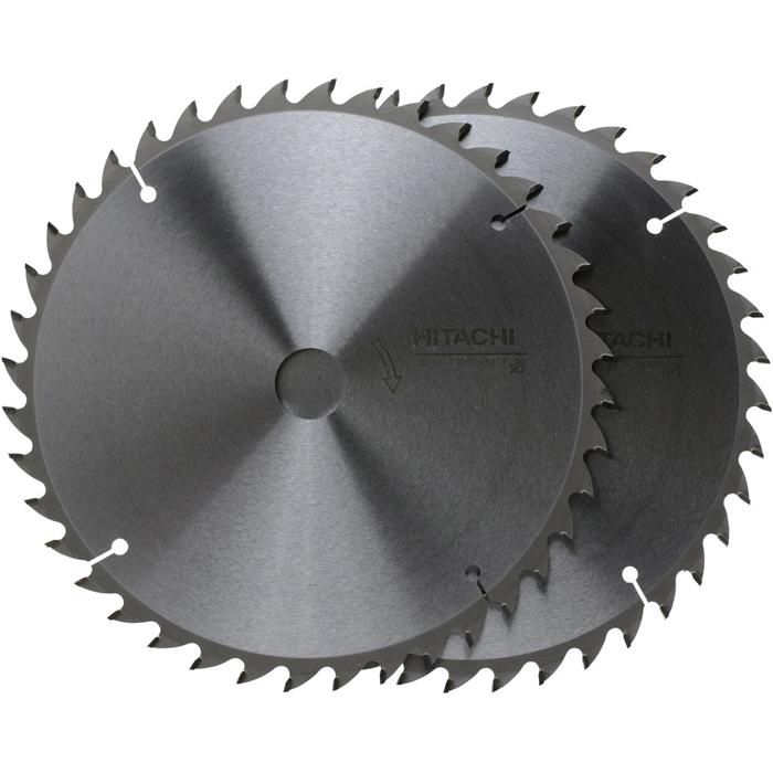 HIKOKI(日立工機) チップソーセット(よこ挽き用) 216 40枚刃 (2入) 0023-0025