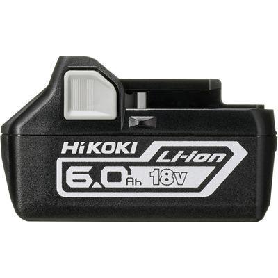 【送料無料】高容量6.0Ah 18Vリチウムイオン電池 HiKOKI(日立工機) 高容量6.0Ah 18Vリチウムイオン電池 BSL1860
