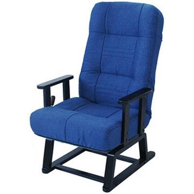 ヤマソロ 【晶】コイルバネ式回転高座椅子 BL 83-992