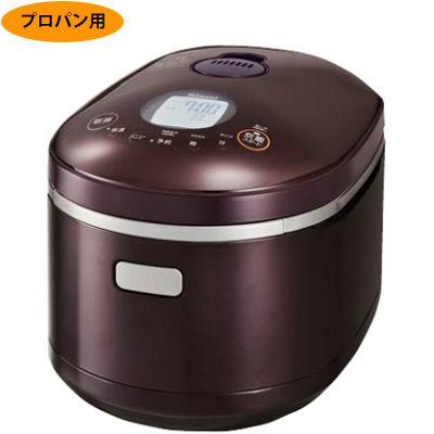 リンナイ ガス炊飯器「直火匠(じかびのたくみ)」1~5.5合炊き(ダークブラウン、プロパン用) RR-055MST2(DB)-LPG