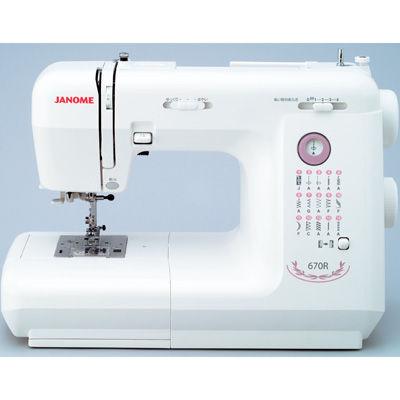 ジャノメ 【代引きOK!今ならカラー糸40ケセットもれなくプレゼント】電子ミシン(755BL2)[IM5] 670R