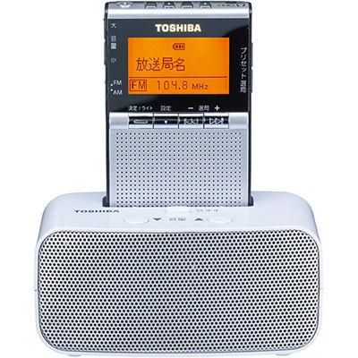 東芝 ドック付ポケットラジオ(シルバー) TY-SPR7(S)【納期目安:約10営業日】