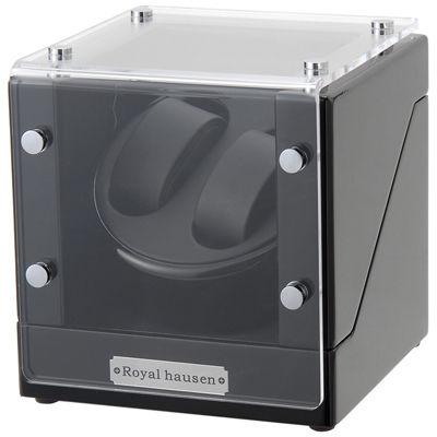 送料無料 ロイヤルハウゼン ギフ_包装 ワインダー 2本巻 GC03 ギフト S102BB GC03-S102BB 腕時計 自動巻き機 ワインディングマシーン