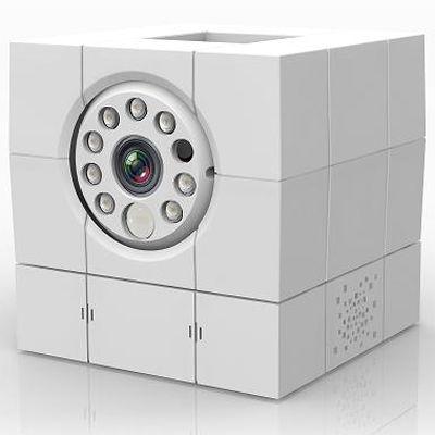マザーツール あんしんカム iCam HD 360 Wi-FiネットワークIPカメラ (沖縄・離島配達不可) ACC1308A1WH