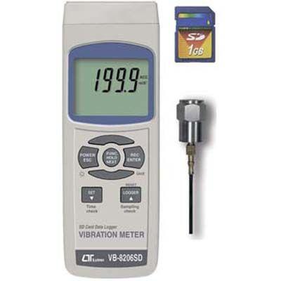 マザーツール SDカードデータロガ式デジタル振動計 (沖縄・離島配達不可) VB-8206SD