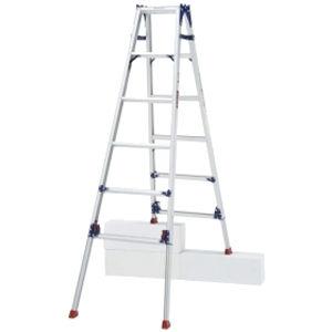 ピカコーポレイション 四脚アジャスト式はしご兼用脚立 かるノビ SCL-180LA