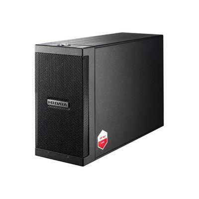 アイ・オー・データ機器 長期保証&保守サポート対応 カートリッジ式2ドライブ外付ハードディスク 4TB ZHD2-UTX4【納期目安:追って連絡】